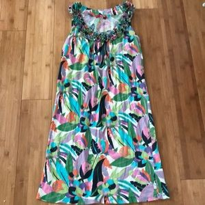 Boden Fun print sundress size 2R
